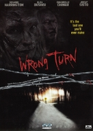 Wrong Turn - Swedish DVD cover (xs thumbnail)