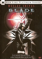 Blade - Czech DVD movie cover (xs thumbnail)
