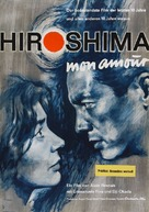 Hiroshima mon amour - German Movie Poster (xs thumbnail)
