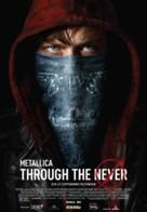 Metallica Through the Never - Romanian Movie Poster (xs thumbnail)