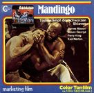 Mandingo - German Movie Cover (xs thumbnail)