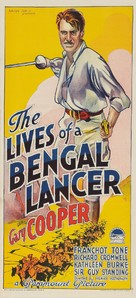 The Lives of a Bengal Lancer - Australian Movie Poster (xs thumbnail)