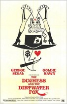 The Duchess and the Dirtwater Fox - Movie Poster (xs thumbnail)