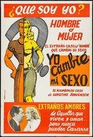Glen or Glenda - Argentinian Movie Poster (xs thumbnail)