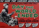 Day the World Ended - British Movie Poster (xs thumbnail)