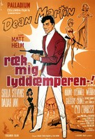The Silencers - Danish Movie Poster (xs thumbnail)