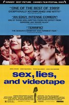 Sex, Lies, and Videotape - Movie Poster (xs thumbnail)