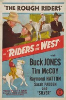 Riders of the West - Movie Poster (xs thumbnail)