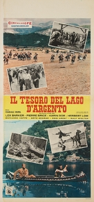 Der Schatz im Silbersee - Italian Movie Poster (xs thumbnail)