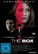 The Box - German DVD movie cover (xs thumbnail)