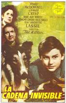 Lassie Come Home - Spanish Movie Poster (xs thumbnail)