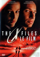 The X Files - French DVD movie cover (xs thumbnail)