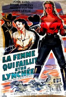 Woman They Almost Lynched - French Movie Cover (xs thumbnail)