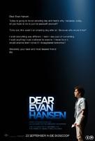 Dear Evan Hansen - Dutch Movie Poster (xs thumbnail)
