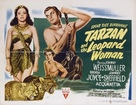 Tarzan and the Leopard Woman - British Movie Poster (xs thumbnail)