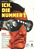 Le silencieux - German Movie Poster (xs thumbnail)