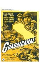 Guadalcanal Diary - Belgian Movie Poster (xs thumbnail)