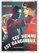 Cet homme est dangereux - Movie Poster (xs thumbnail)