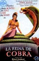 Cobra Woman - Spanish poster (xs thumbnail)