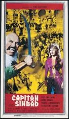 Captain Sindbad - Italian Movie Poster (xs thumbnail)