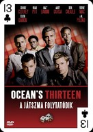 Ocean's Thirteen - Hungarian Movie Cover (xs thumbnail)