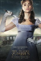 Pride and Prejudice and Zombies - British Movie Poster (xs thumbnail)