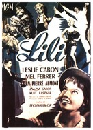 Lili - French Movie Poster (xs thumbnail)