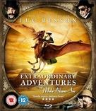 Les aventures extraordinaires d'Adèle Blanc-Sec - British Blu-Ray cover (xs thumbnail)