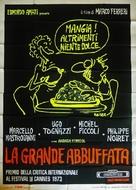 La grande bouffe - Italian Movie Poster (xs thumbnail)