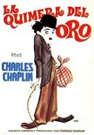 The Gold Rush - Spanish Movie Poster (xs thumbnail)