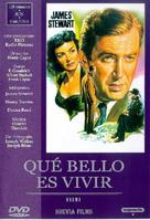 It's a Wonderful Life - Spanish DVD cover (xs thumbnail)