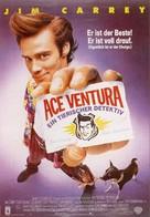 Ace Ventura: Pet Detective - German Movie Poster (xs thumbnail)