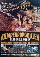 Il fiume del grande caimano - Danish Movie Poster (xs thumbnail)