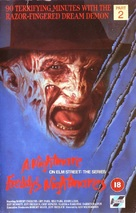"""Freddy's Nightmares"" - British VHS movie cover (xs thumbnail)"