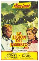 Desert Legion - Spanish Movie Poster (xs thumbnail)