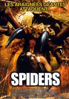 Spiders - French Movie Cover (xs thumbnail)