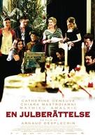 Un conte de Noël - Swedish Movie Poster (xs thumbnail)