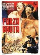 Brute Force - Italian Movie Poster (xs thumbnail)