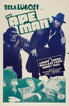 The Ape Man - Re-release poster (xs thumbnail)