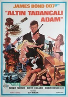 The Man With The Golden Gun - Turkish Movie Poster (xs thumbnail)