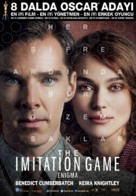 The Imitation Game - Turkish Movie Poster (xs thumbnail)