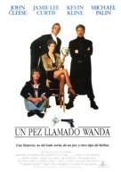 A Fish Called Wanda - Spanish Movie Poster (xs thumbnail)