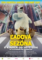 Norm of the North - Slovak Movie Poster (xs thumbnail)