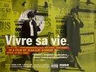 Vivre sa vie: Film en douze tableaux - British Movie Poster (xs thumbnail)