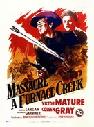 Fury at Furnace Creek - French Movie Poster (xs thumbnail)