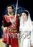 Ivanhoe - Hungarian DVD movie cover (xs thumbnail)