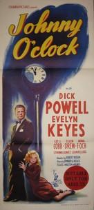 Johnny O'Clock - Australian Movie Poster (xs thumbnail)