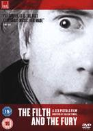 The Filth and the Fury - British DVD cover (xs thumbnail)