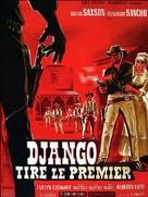 Django spara per primo - French Movie Poster (xs thumbnail)