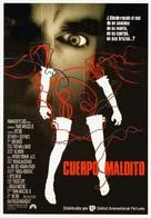 Body Parts - Spanish Movie Poster (xs thumbnail)